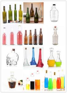 Bottiglia di spirito della birra del latte dell'acqua della bevanda della bottiglia di vetro della spremuta/vino rosso