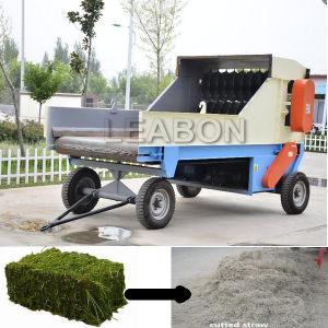 2018新しいデザイン農場のAlfafaの草のベール粉砕機機械価格