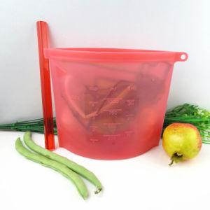 O logotipo personalizado de silicone resistente saco de alimentos