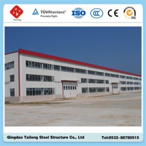 Estructura de acero de la luz de Carport/Almacén/Taller de Construcción