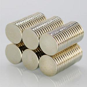 De sterke Magneten van de Zeldzame aarde van het Neodymium NdFeB Permanente