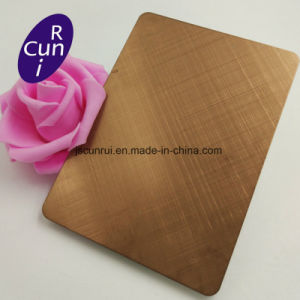 Specchio 304 dell'oro 8K della Rosa 201 316 strato dell'acciaio inossidabile di 310 colori