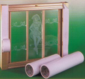 Les bandes de protection en PVC pour fenêtre en aluminium