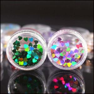 L'acrylique Galaxy Flocons de caméléon irréguliers de Poussière Glitter pour nail art