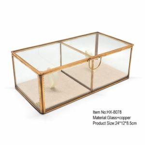 [لوو بريس] [جولري بوإكس] ذهبيّة زجاجيّة لأنّ [رومتيك] عريجي [دكرتتيف]