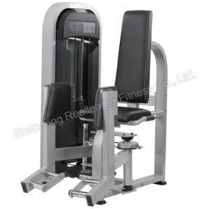 Equipos de gimnasia la fuerza de la cadera de la máquina secuestrador cuerpo gimnasio formador