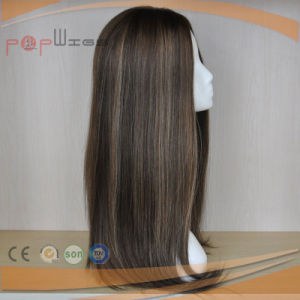 Braizlianの毛の絹の上のユダヤ人の女性のかつら(PPG-l-01734)