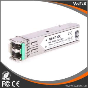 Arista compatible original 1000BASE-EZX SFP 1550nm transceptor Módulo de 120km.