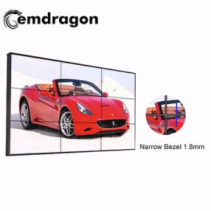 선수를 광-고해서 46 인치 매우 얇은 날의 사면 LCD 영상 벽 LED Backlit 선반 디지털 광고 WiFi 3G Vedios 고품질 광고 선수 인조 인간 차 DVD 플레이어를 난입하십시오