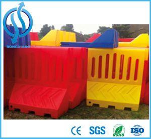 Branco/Amarelo/Vermelho Barreira de Segurança Barreira de tráfego com água
