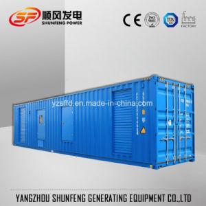 防音の容器が付いている無声900kVAパーキンズの電力のディーゼル発電機