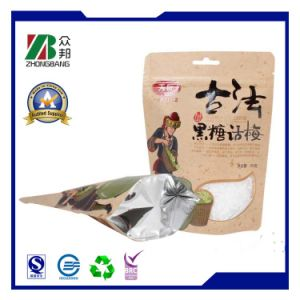 Встаньте с пластиковой упаковки Zip молнии блокировки подушки безопасности