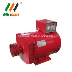 Generatore della STC 10kw del collegare di rame di 100% con l'interruttore della puleggia