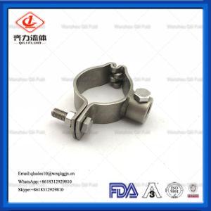 Tubo de acero inoxidable sanitario soporte del tubo colgador