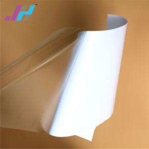 Brilhante e clara de PVC imprimível mate adesivo de vinil transparente (SAV)