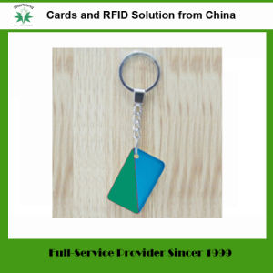 125kHz/13.56MHz RFID/NFC 꼬리표 플라스틱 아BS RFID Keyfob (꼬리표 09)