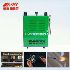 Hhoのガスのアクリルの表面のポリッシャの手動アクリルの磨く機械