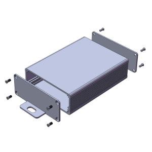 주문을 받아서 만들어진 알루미늄 지능적인 WiFi 전등 스위치 상자