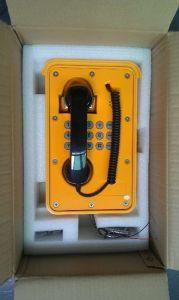 Telefono resistente Knsp-09 del traforo del telefono