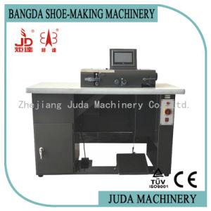 Sistema computadorizado de volta a faca de cortar de Borda de couro máquina máquina de fazer o saco da Sapata