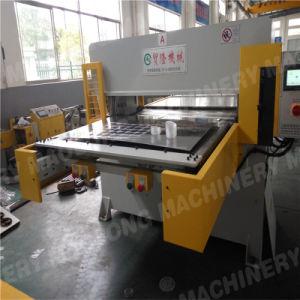 Alimentação Lateral única máquina de corte de borracha/couro prensa de Corte
