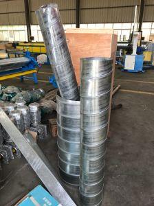 De automatische Hydraulische Machine Tubeformer van de Pijp van Inox van de Luchtleiding Spiraalvormige voor Ronde Vroegere Buis
