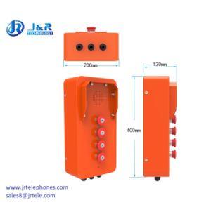 Telefono industriale a tenuta d'acqua di alta qualità molto seguita dal pubblico, telefono Emergency di fiancata della nave resistente all'intemperie