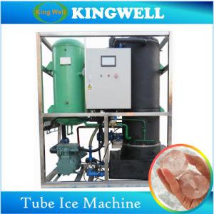 macchina di raffreddamento diretta automatica commestibile commerciale del ghiaccio in pani 30t