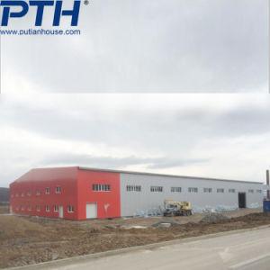 Edificio de estructura de acero de fácil instalación para almacén