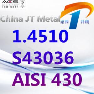 1.4510 S43036 AISI 430 de Duitse StandaardStaaf van de Pijp van de Plaat van het Roestvrij staal, de Leverancier van China