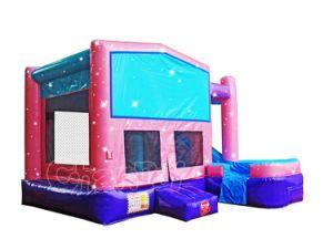 7 in 1 castello di salto gonfiabile combinato modulare dentellare Chb603s