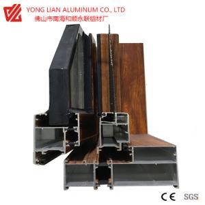 Perfil de extrusión de aluminio de alta calidad para el salto térmico del bastidor de Windows