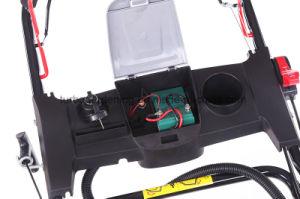 21 pouces de bonne qualité à démarrage électrique automoteur tondeuse à gazon