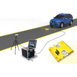 UV flexível300m sob o detector de inspecção de veículos