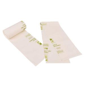 コーンスターチのカスタムカラーはロールで100%の生物分解性のポリ袋を印刷した