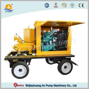 수평한 다단식 양수 기계 농장 Agricutural 관개 디젤 엔진 펌프 400m