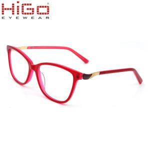 Frames van het Glas van het Oog van de Voorraad Eyewear van de Acetaat van de Ontwerper van Italië de Optische Klaar