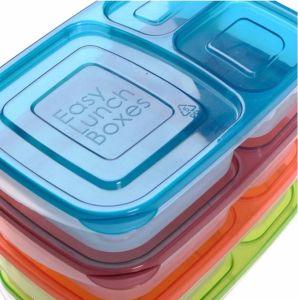 بلاستيكيّة [بنتو] صندوق 3 أرض محصورة بلاستيك جديات [لونش بوإكس]