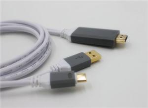 SamsungまたはMacBookのためのHDMI HDTVのアダプター4K UHDへのUSB-CのタイプC