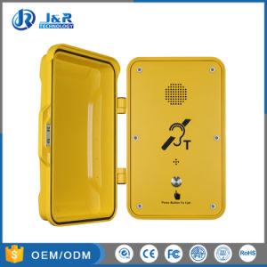 Водонепроницаемый телефон экстренной связи для использования вне помещений, влагостойкие туннеля телефоны