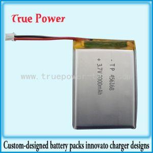 추적자를 위한 Llithium 중합체 재충전 전지 3.7V 2500mAh (TPP456068)