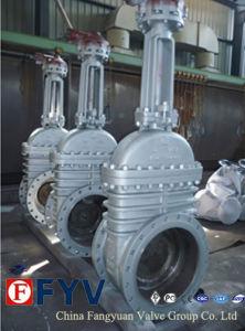 ISO9001鋳鉄の平板のゲート弁