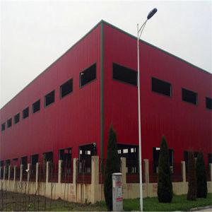 Abarcan todo el edificio de estructura de acero Construcción modular de almacén (LTL403)