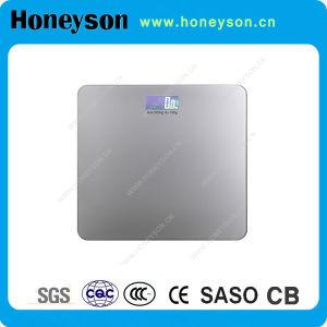 Échelle électronique de salle de bain numérique avec écran LCD