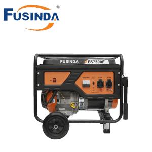 6kw Elektrisch Ce/de Generator van de Benzine van het Begin van de Terugslag (FS7500E) voor het Gebruik van het Huis