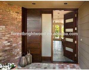 Houten deur van maleisië van het ontwerp van de deur van de ingang