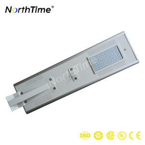 hohe Übertragungsmengen-Sonnenkollektor-integriertes Solarstraßenlaterneder hohen Leistungsfähigkeits-50W