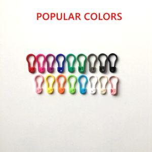 22mmの衣類のための多彩で環境に優しい西洋ナシ形のプラスチック札Pin