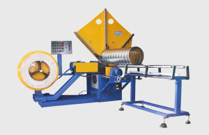 Lxa-85/1200conduit en spirale de la machine d'un