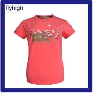 Maglietta unisex del cotone stampata abitudine di colore solido